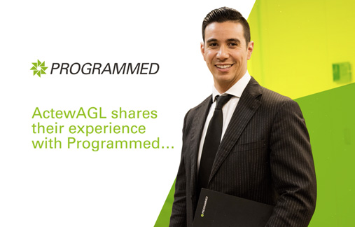 ActewAGL shares their experience with Programmed