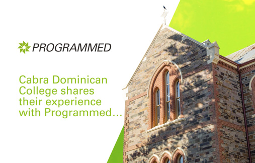 Cabra Dominican College shares their experience with Programmed